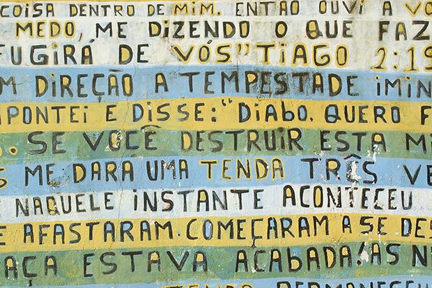 Projeto Pintores de Letras lança fonte 'Abençoada' para ajudar a realizar sonho de artista em Içara (SC) 4