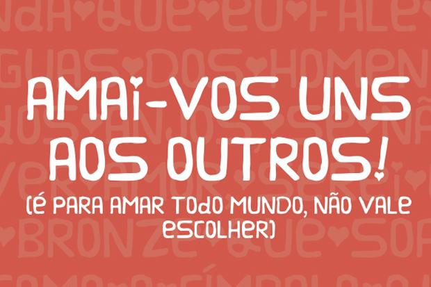 Projeto Pintores de Letras lança fonte 'Abençoada' para ajudar a realizar sonho de artista em Içara (SC) 3
