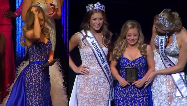 Jovem com síndrome de Down faz história ao competir em concurso de Miss nos EUA 1