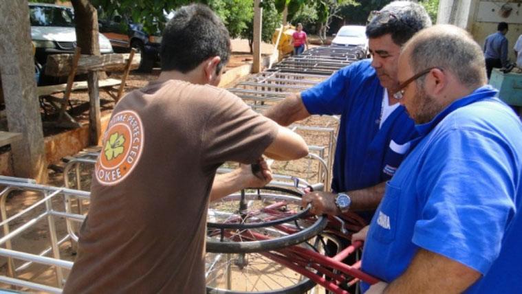 Oficina no Mato Grosso do Sul recupera mobiliário hospitalar para doação 1