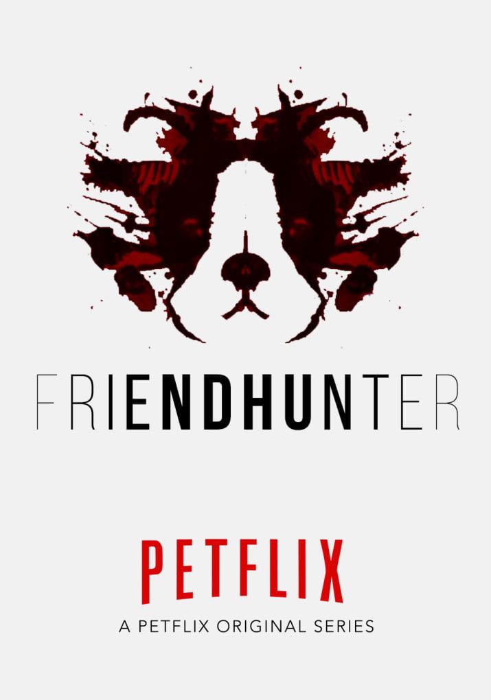 Brasileira recria pôsteres de séries da Netflix com cães para apoiar abrigo de animais nos EUA 8