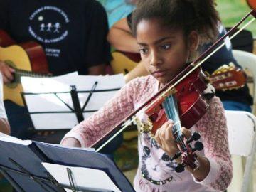 Arte e esporte fortalecem vínculos e abrem possibilidades para crianças e jovens 7