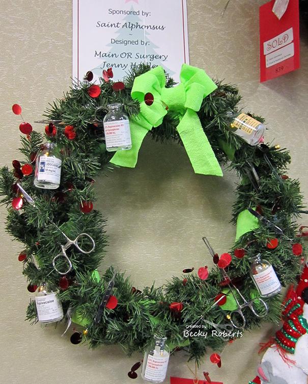 Essas decorações de natal feita por funcionários de hospitais são as mais criativas que você vai ver! 6