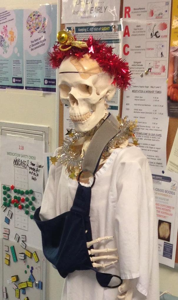 Essas decorações de natal feita por funcionários de hospitais são as mais criativas que você vai ver! 7