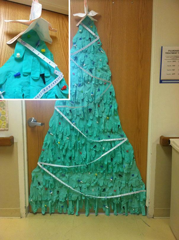 Essas decorações de natal feita por funcionários de hospitais são as mais criativas que você vai ver! 8