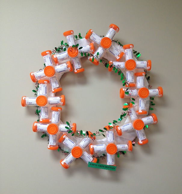 Essas decorações de natal feita por funcionários de hospitais são as mais criativas que você vai ver! 9