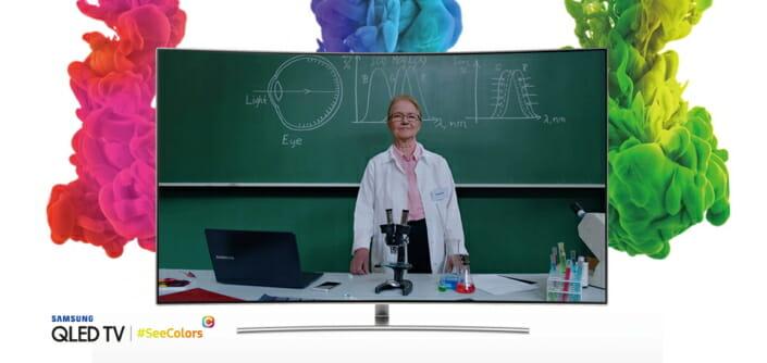 Samsung cria app que ajudará daltônicos a recalibrarem as cores de suas TVs 2