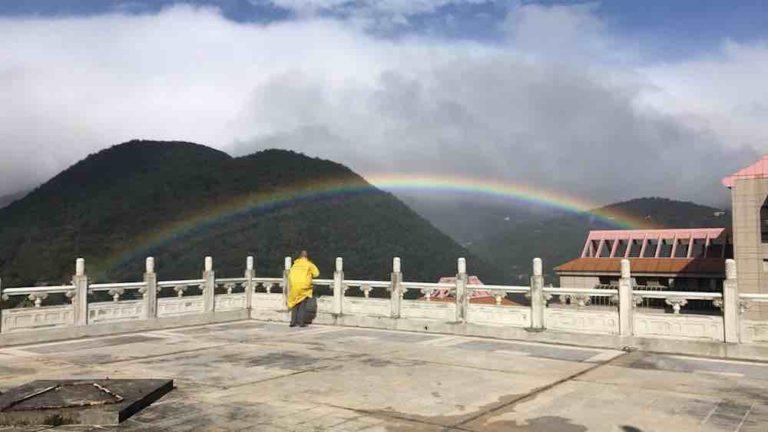 """Arco-íris que """"durou"""" 9 horas em Taiwan é considerado verdadeiro milagre da natureza 1"""