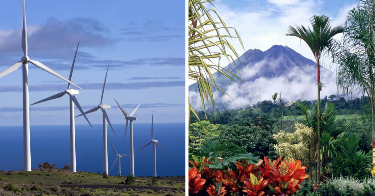Costa Rica consegue gerar energia 100% limpa durante 300 dias ao ano e isso é maravilhoso 2