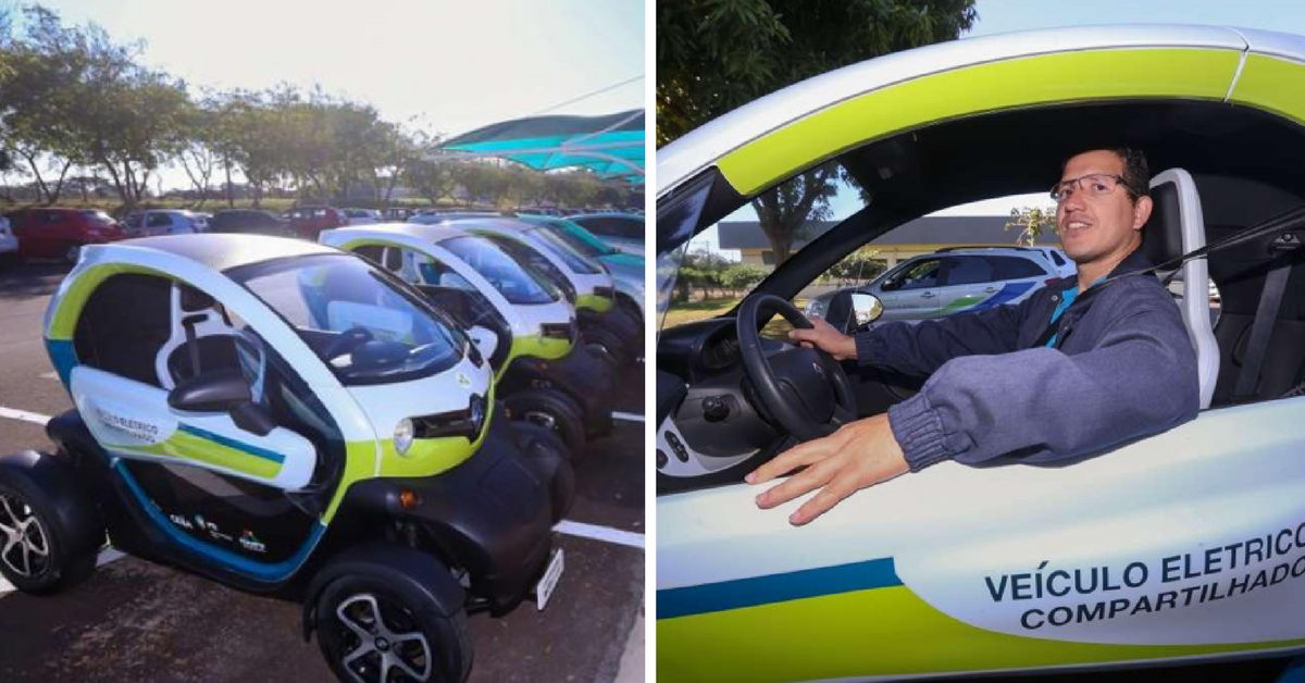 Paraná já possui ponto de compartilhamento de veículos elétricos 1