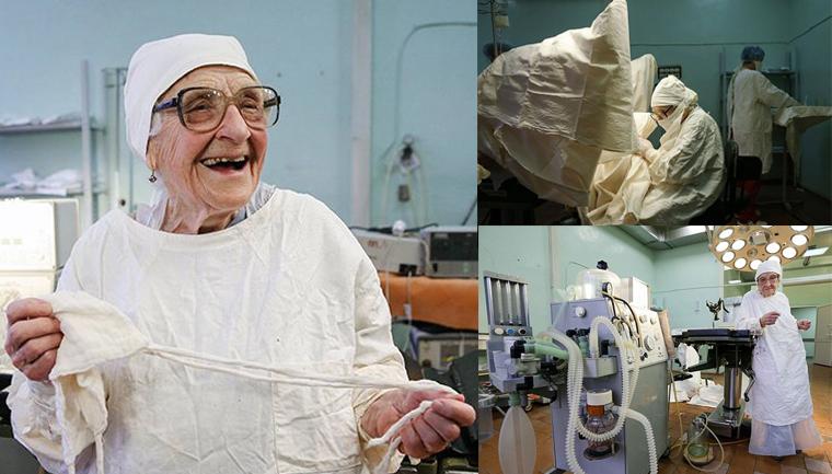 Conheça Alla Levushkina, a cirurgiã de 90 anos que faz 4 cirurgias todos os dias 15