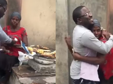 Homem distribui dinheiro para pequenos comerciantes expandirem seu negócio 2