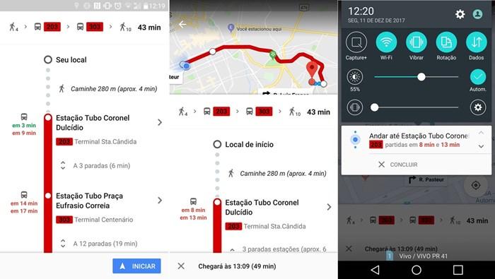 Google Maps agora te avisa a hora de descer do ônibus 2