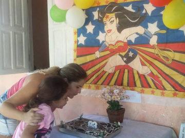 aniversário mãe solo