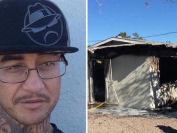 Morador em situação de rua salva duas crianças de incêndio nos EUA 5