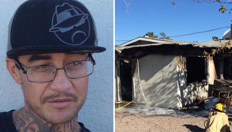 Morador em situação de rua salva duas crianças de incêndio nos EUA 1