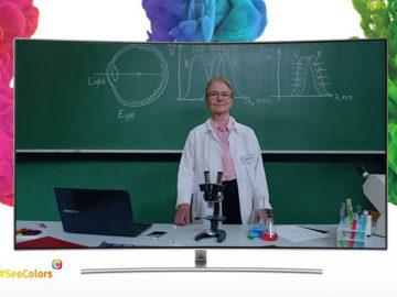 Samsung cria app que ajudará daltônicos a recalibrarem as cores de suas TVs 1