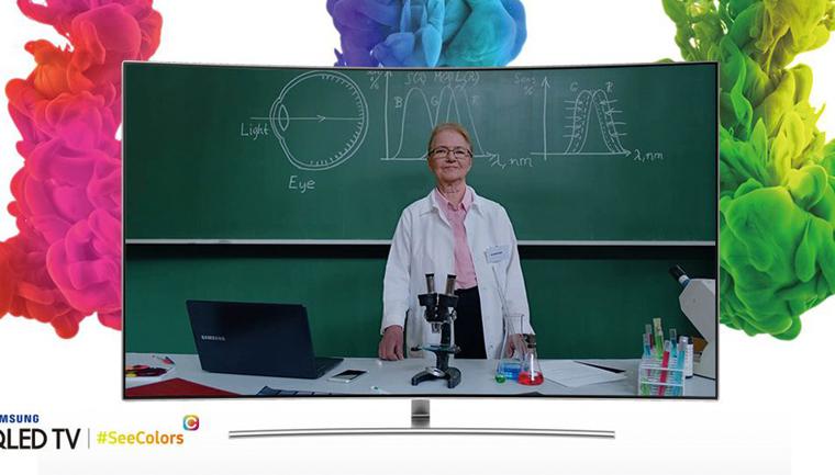 Samsung cria app que ajudará daltônicos a recalibrarem as cores de suas TVs 6