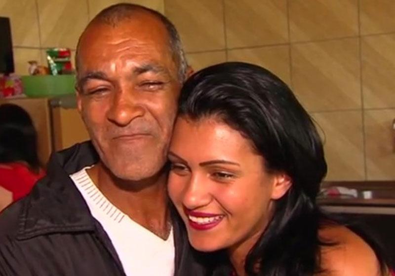 Filha encontra pai desaparecido há 10 anos nas redes sociais e isso é muito emocionante 1