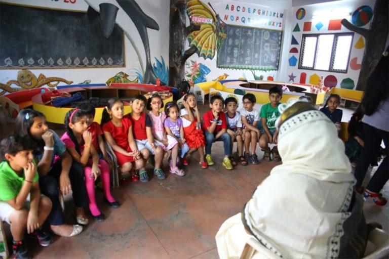 Organização na Índia desenvolve método eficaz para fazer as crianças gostarem de ler 1