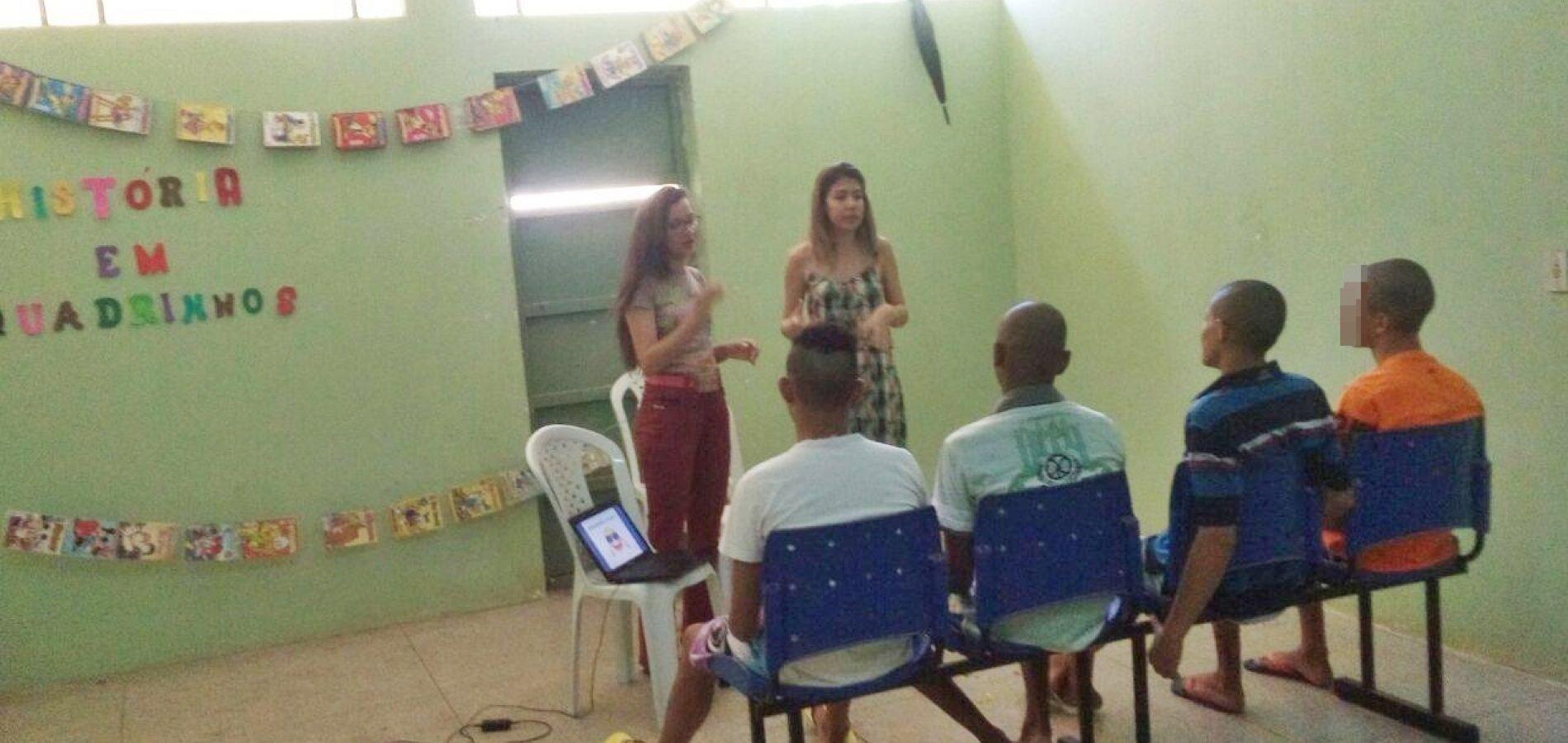 Por meio da leitura, estudante muda vida de adolescentes que cumprem medidas socioeducativas 2