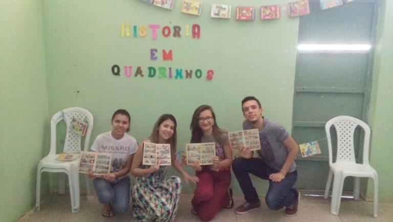 Por meio da leitura, estudante muda vida de adolescentes que cumprem medidas socioeducativas 1