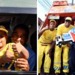 Garotinho de quatro anos ganha festa do caminhão de lixo 2
