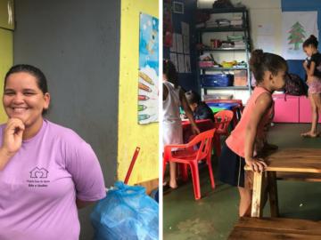 No DF, ex-catadora abre creche (grátis) para que outras catadoras deixem seus filhos 3