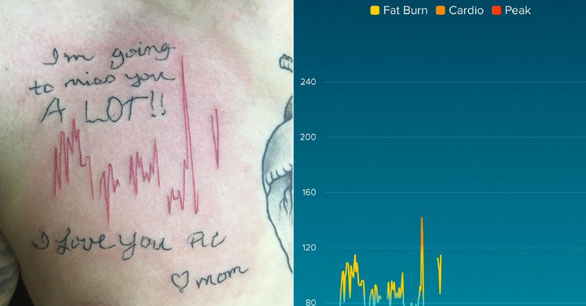Filho faz linda homenagem em forma de tatuagem à mãe que morreu 2