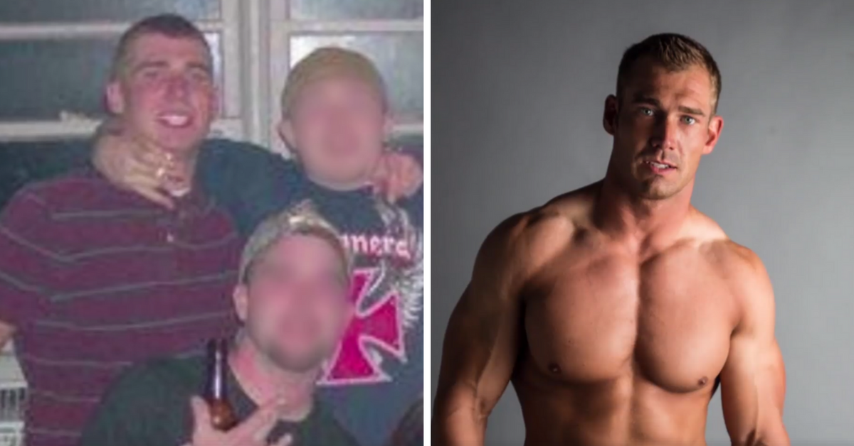 Ele foi viciado em drogas e encontrou nos exercícios físicos a chave para o sucesso e a felicidade 1