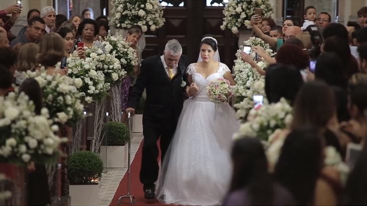 Pai supera sequelas de AVC e leva filha até o altar 4
