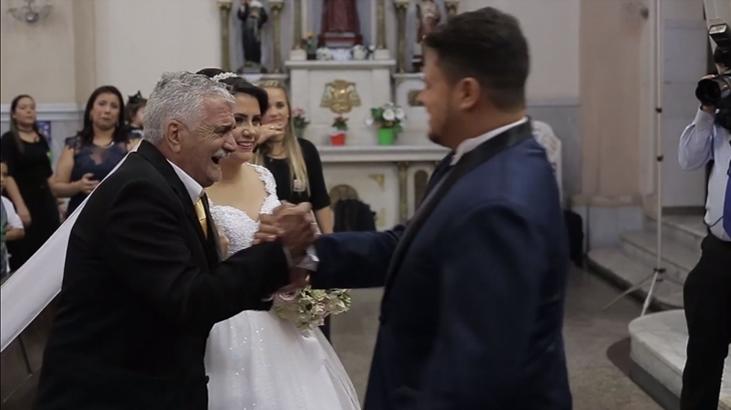 Pai supera sequelas de AVC e leva filha até o altar 5