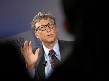 Bill Gates acredita que o mundo está ficando melhor em editorial Time 3