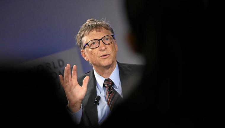 Bill Gates acredita que o mundo está ficando melhor em editorial Time 1
