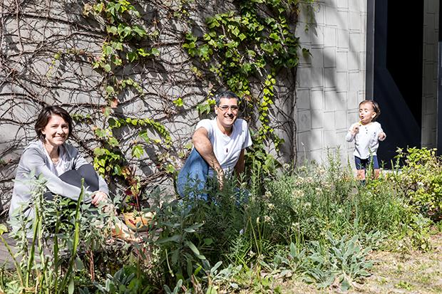 Casal transforma garagem numa horta comunitária em SP e o resultado é maravilhoso 2