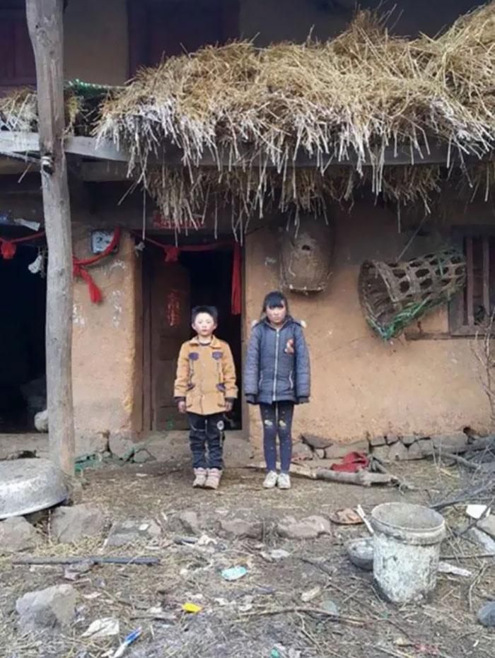 Chinês de 8 anos caminha quase 10 km na neve todos os dias para poder estudar 3