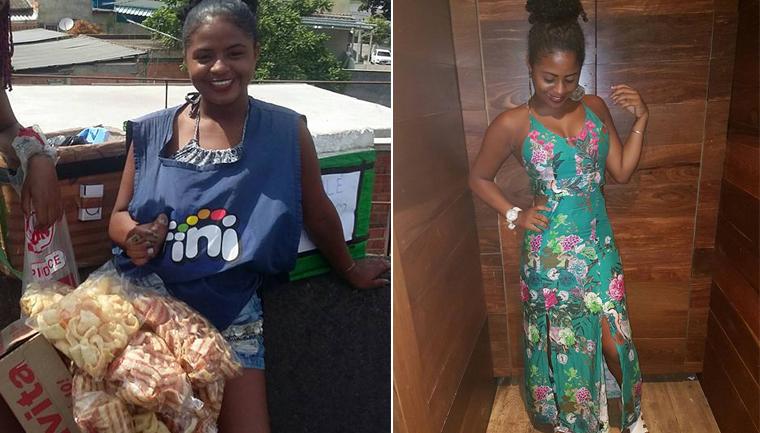 Vendedora ambulante escreve relato poderoso à pessoas que a olham com nojo por trabalhar na rua 2