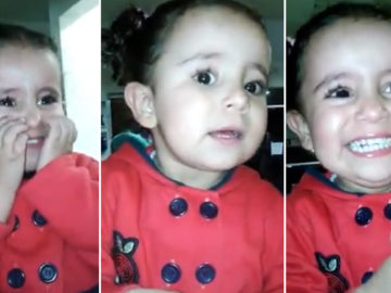 Vídeo de menina conhecendo o irmão recém-nascido derrete a internet 1