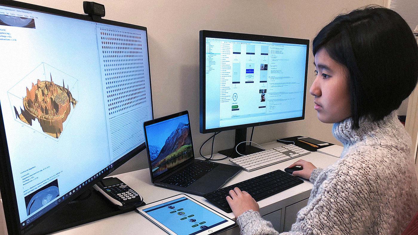 Garota de 14 anos cria app que ajuda pacientes com Alzheimer a reconhecer os outros 1