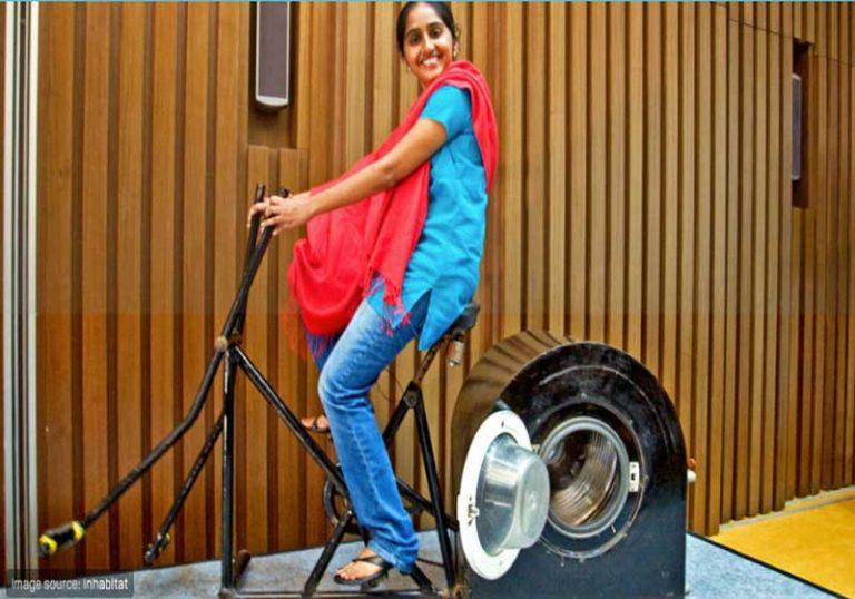 Jovem indiana cria máquina de lavar roupas para quem não tem energia elétrica e ganha prêmio 1
