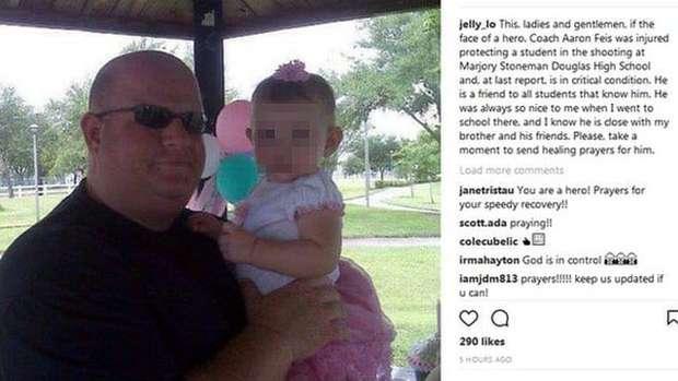 Vigia da escola da Flórida que sofreu massacre arriscou a própria vida para salvar os alunos 1