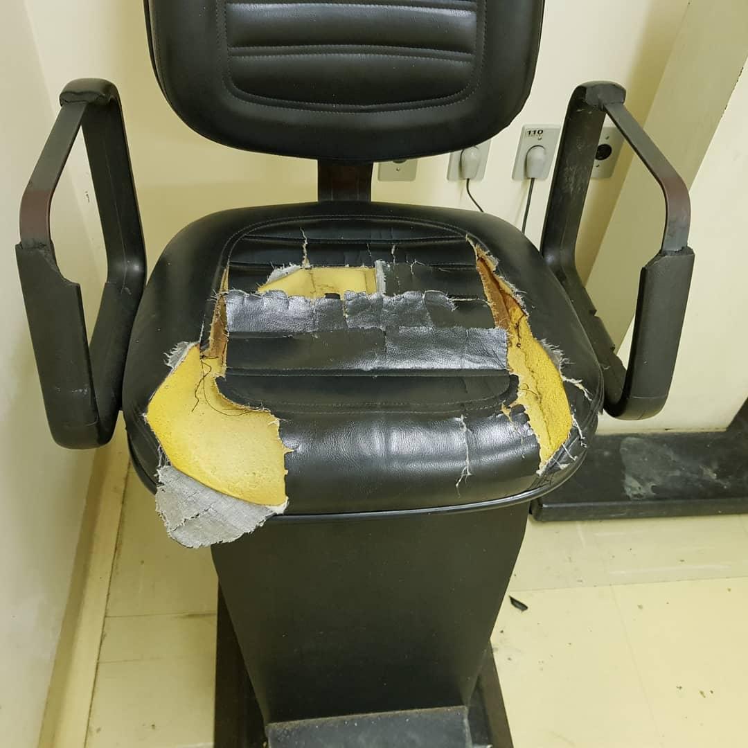 Em SP, paciente da Santa Casa conserta as cadeiras da instituição em gesto generoso 3