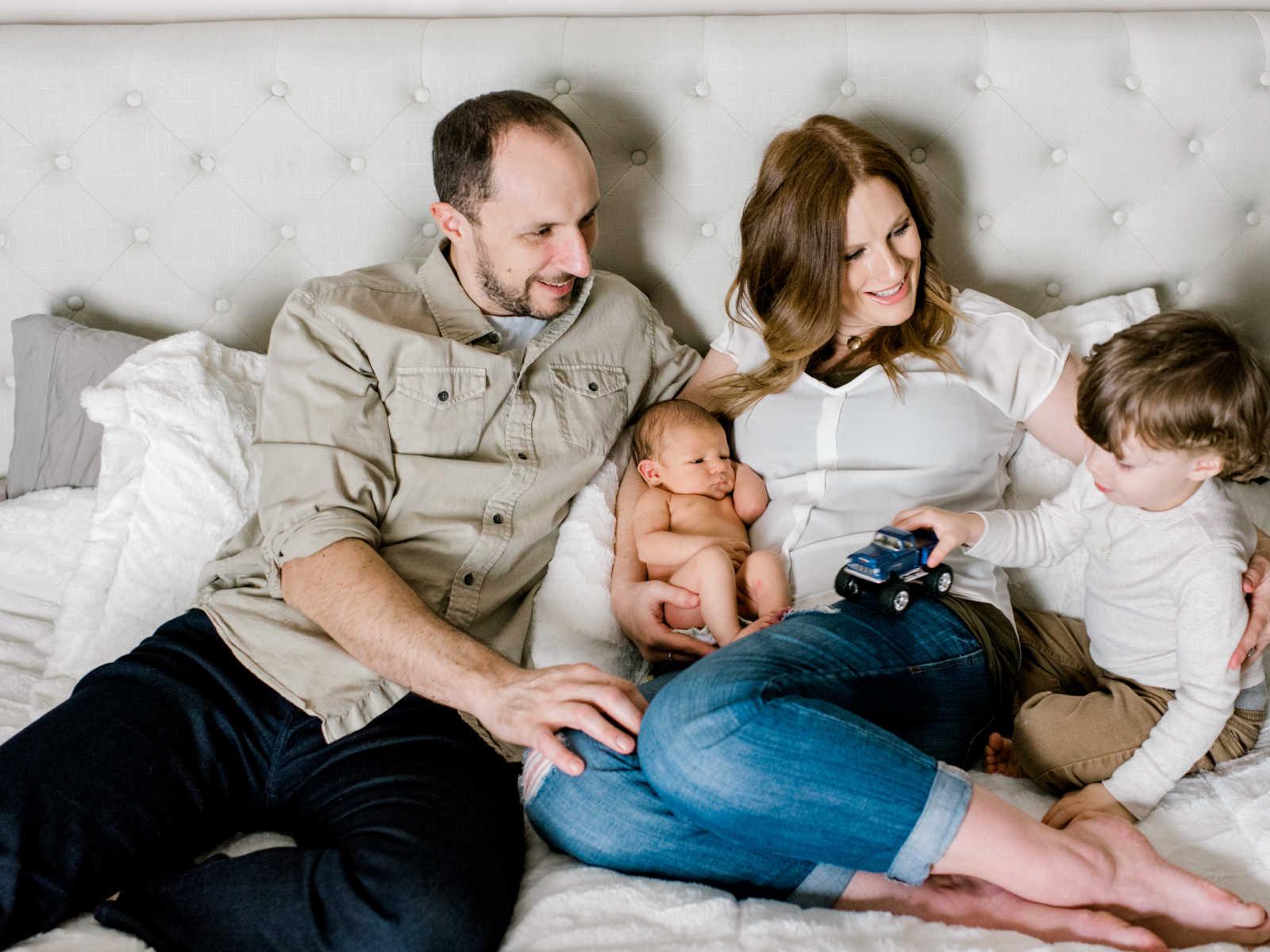 Depois de dolorosa fertilização in vitro, mãe faz linda homenagem ao filho que nasceu 7
