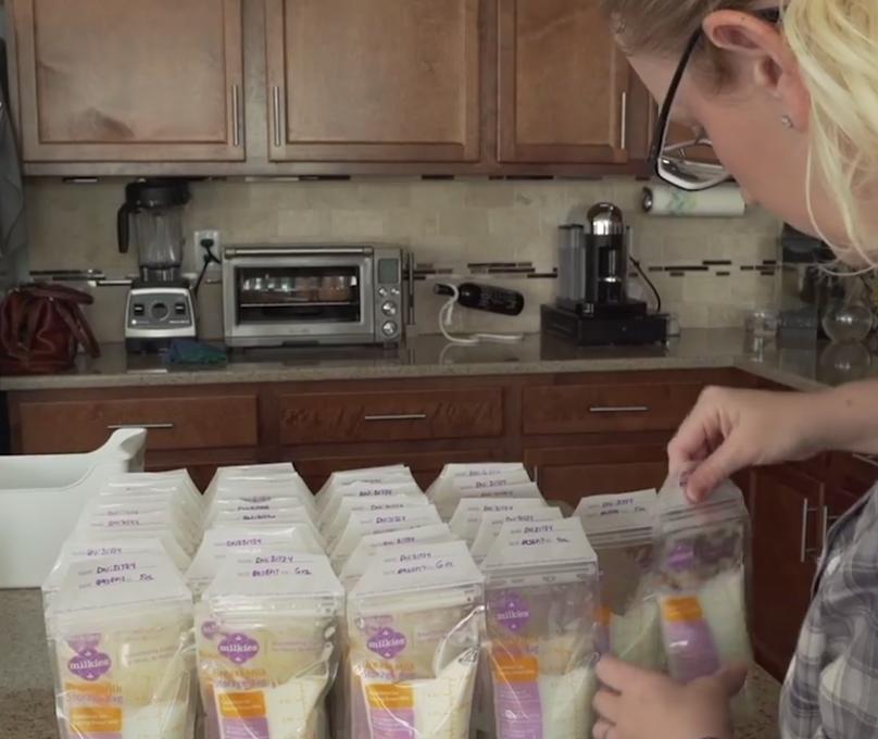 Americana com hiperlactação já doou mais de 2000 litros de leite para alimentar centenas de bebês 2