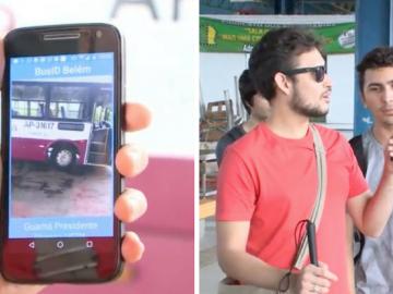 Universitários do Pará desenvolvem app que ajuda cegos a saberem que ônibus pegar 4