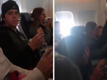 [VÍDEO] Tripulação de avião parabeniza jovem que passou no vestibular de medicina 2