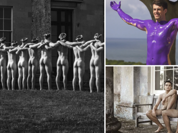 Equipe de remo britânica tira roupa novamente em calendário contra a homofobia 1