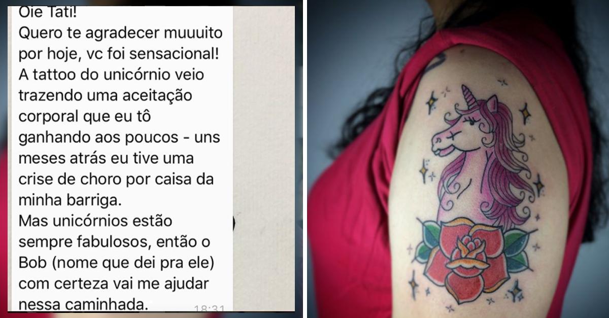 Estúdio de tatuagem lança campanha para cobrir gratuitamente cicatrizes 1