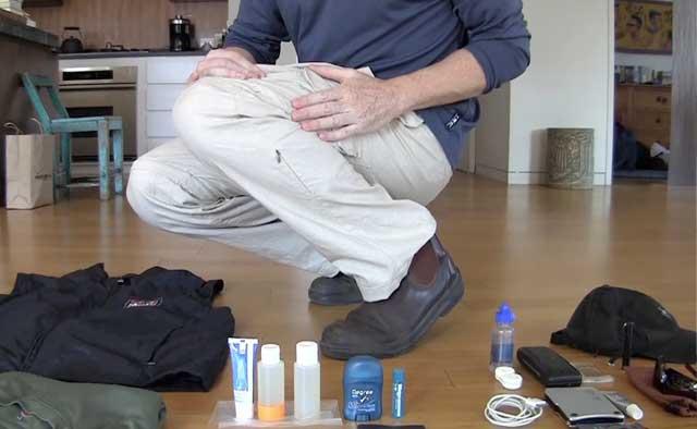 Homem Viaja por 12 Países sem Mala. Como é possível? 2