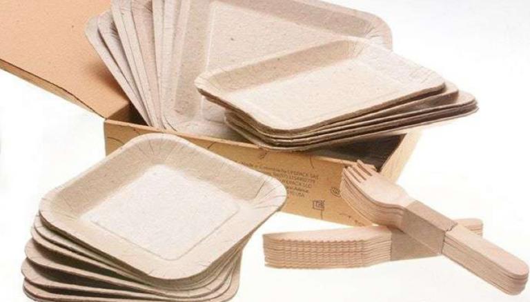 Pratos e talheres podem ser plantados para gerar novos alimentos 1